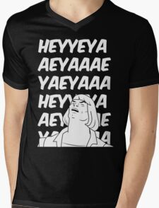 He-Man Sings! (black) Mens V-Neck T-Shirt