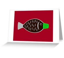 Soy Sauce Fish Greeting Card