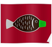 Soy Sauce Fish Poster
