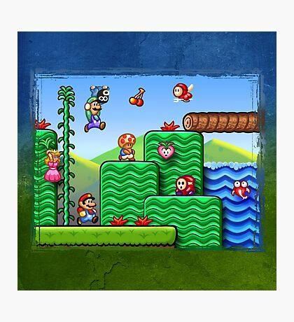 Super Mario 2 Photographic Print