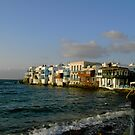 Mykonos Chora ~ Little Venice by ©The Creative  Minds