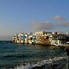 Mykonos Chora ~ Little Venice by ©The Creative  Minds