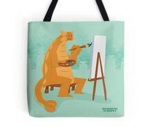 Artistic Ankylosaurus tote Tote Bag