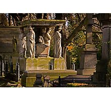 Kensal Green Cemetery in colour. Photographic Print