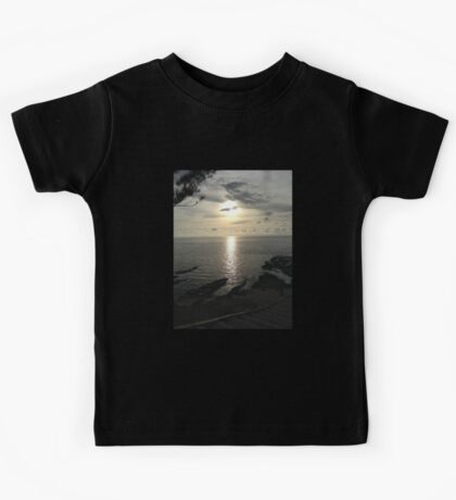 Sunset On The Beach Kids Tee