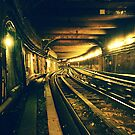 Abbesses Metro tunnel by cormacphelan