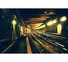 Abbesses Metro tunnel Photographic Print