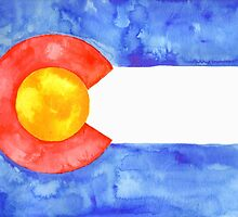 Colorado Flag by Shannon Faber