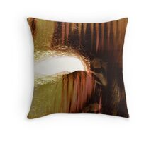caves....... early man Throw Pillow