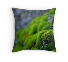 Mossy Micro Scape Throw Pillow