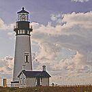 Yaquina Head Lighthouse, Newport Oregon USA by Bryan D. Spellman