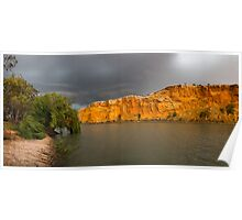 Storms on the River - Panoramic - Poster