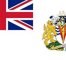Flag of the British Antarctic Treaty  by abbeyz71