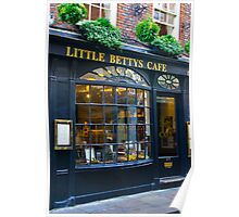 Little Betty's Cafe Poster