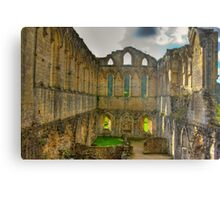 The Refectory - Rievaulx Abbey Metal Print