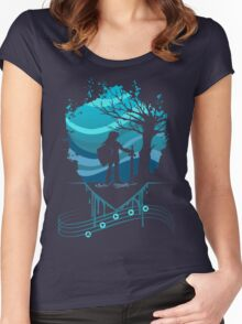Serenade of Water Women's Fitted Scoop T-Shirt