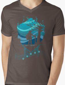 Serenade of Water Mens V-Neck T-Shirt