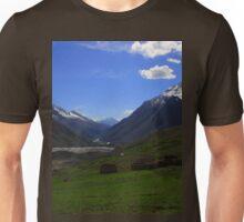 an unbelievable Pakistan landscape Unisex T-Shirt