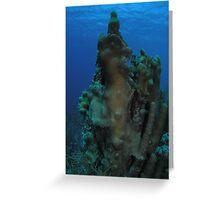 Landmark at Sajo's Reef Greeting Card