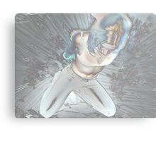 negative burst Metal Print
