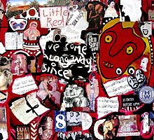 The Red Mask Collage by Redlady