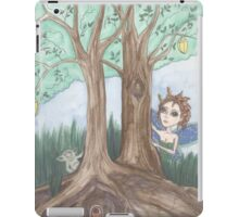 Faerie and troll fantasy art iPad Case/Skin