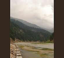 an exciting Pakistan landscape Unisex T-Shirt