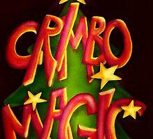 Crimbo-Magic Christmas Card by Sybille Sterk