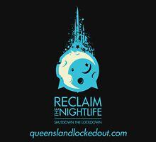 Queensland Locked Out - Blue Logo Unisex T-Shirt