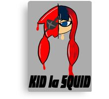 KID la SQUID Canvas Print