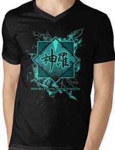 Shin-Ra Mako Mens V-Neck T-Shirt