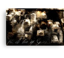 In Memoria Canvas Print
