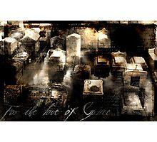 In Memoria Photographic Print