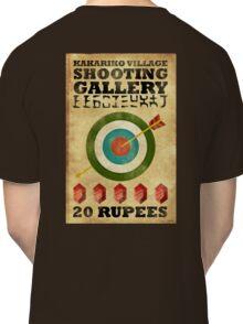 Legend of Zelda Shooting Gallery Poster Classic T-Shirt