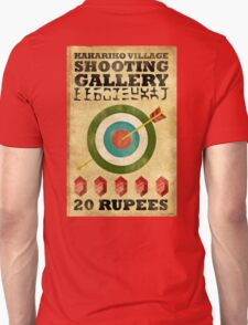 Legend of Zelda Shooting Gallery Poster Unisex T-Shirt
