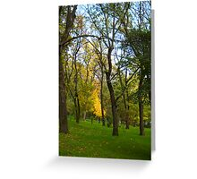 Autumn. Greeting Card