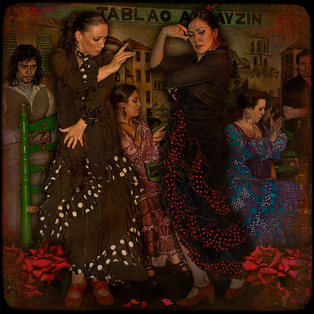 FLAMENCO... love-rivalry in dance of passion. by egold