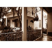 The Whistle Walk Myrtles Plantation Photographic Print