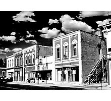 Down on Main Street Photographic Print