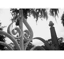 Cemetary Gates II Photographic Print