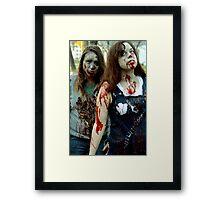 A Pair In Death Framed Print
