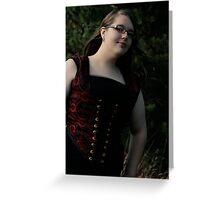 Renaissance Girl Greeting Card