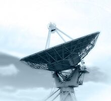 VLA Listening to Space by doorfrontphotos