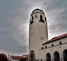 Boise Depot On A Blustery Day by trueblvr