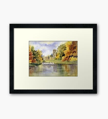 Fountains Abbey, Yorkshire Framed Print