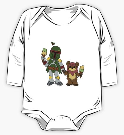Boba and Wicket - BFFs One Piece - Long Sleeve