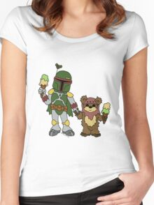 Boba and Wicket - BFFs Women's Fitted Scoop T-Shirt