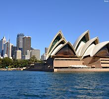 Opera House & Skyline by Kevin Cotterell