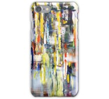 World beneath the Sky, abstract landscape art painting iPhone Case/Skin