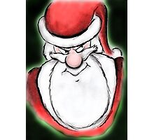 Santa's sly eyes Photographic Print